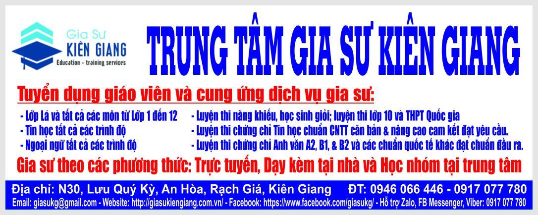 GIA SU KIEN GIANG